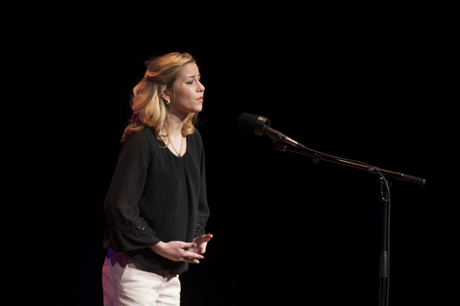 "Kentucky State Poetry Out Loud Champion Haley Bryan reads ""Domestic Situation"" by Ernest Hilbert"
