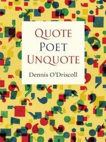 quote-poet-unquote